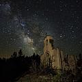 St Aloysius Ruin And The Milky Way by David Soldano