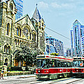 St Andrew Church In Toronto by Alex Pyro
