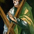 St Andrew by El Greco Domenico Theotocopuli