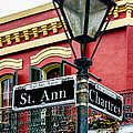 St. Ann And Chartres Nola  by Kathleen K Parker