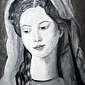 St. Anne - Value Work  by Debbie Davidsohn