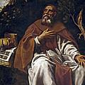 St Anthony Abbot by Luis Tristan de Escamilla