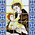 St Anthony Of Padua by Christine Till