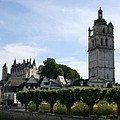 St. Antoine Tower And The Chateau De Loches by Christiane Schulze Art And Photography