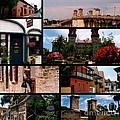 St Augustine In Florida - 1 Collage by Susanne Van Hulst