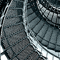 St Augustine Lighthouse Staircase by Christine Till