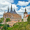 St Barbara Church Kutna Hora by Leon Roland