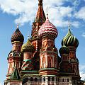 St. Basil's Cathedral by Linda Dunn