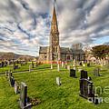 St Beuno Church by Adrian Evans