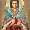 St. Catherine by Zorina Baldescu