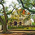 St. Charles Ave. Mansion Paint by Steve Harrington