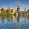 St Charles Bridge Prague by John Magyar Photography