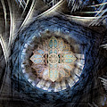 St Davids Cathedral Roof by Simon Pearce