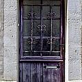 St Emilion Door by Georgia Fowler