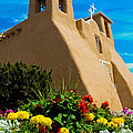 St Francis D'asis Mission Church. Taos New Mexico by Jeff Black