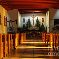 St Francis De Paula Mission Tularosa by Bob Christopher