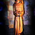 St. Francis Of Assisi By George Wood by Karen Adams