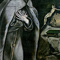 St Francis Of Assisi by El Greco Domenico Theotocopuli
