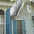 St Francisville Inn Windows Louisiana by Lizi Beard-Ward