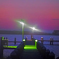 St. Georges Island Dock - Just Before Sunrise by Bill Cannon