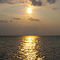 St George's Island Sunset by Bill Cannon