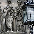 St Giles Church Statues 6600 by Jack Schultz