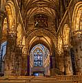 St. Giles Interior by Brian Grzelewski