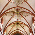 St Goar Organ And Ceiling by Jenny Setchell
