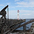 St. Ignace Lighthouse by Keith Stokes