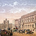 St James Palace And Conservative Club by Achille-Louis Martinet