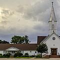 St John Lutheran Church Of Prairie Hill by David Morefield