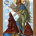 St. John The Forerunner Also The Baptist 082 by William Hart McNichols