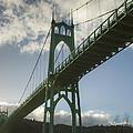 St Johns Bridge by Jean Noren