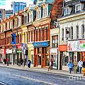 Yonge Street In Toronto by Les Palenik