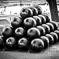 St. Joseph Michigan Cannon Balls Picture by Paul Velgos