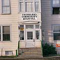 St. Joseph's Hospital Fairbanks Alaska The Chena River 1969 by California Views Archives Mr Pat Hathaway Archives