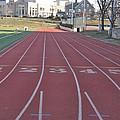 St Josephs University Track by Bill Cannon