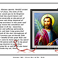 St. Jude Patron Of Hopeless Cases - Prayer - Petition by Barbara Griffin