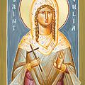 St Julia Of Carthage by Julia Bridget Hayes