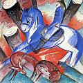 St Julian 1913 by Franz Marc