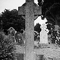 St Kevins Cross High Celtic Cross Grave Stone Glendalough Monastery County Wicklow Republic Of Ireland by Joe Fox