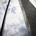 St Louis Arch  by Jef Franklin