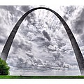 St Louis Arch by Larry Jost