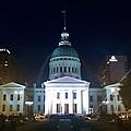 St. Louis At Night by Chris Tarpening