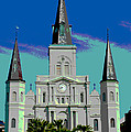 St Louis Cathedral 3 by Alys Caviness-Gober