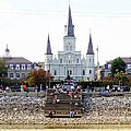 St Louis Cathedral by Ed Weidman
