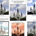 St Louis Cathedral In New Orleans by Marian Bell