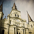 St Louis' Cathedral In New Orleans by Ray Devlin