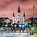 St. Louis Cathedral In The Morning by Andy Crawford