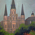 St. Louis Cathedral by Lilibeth Andre